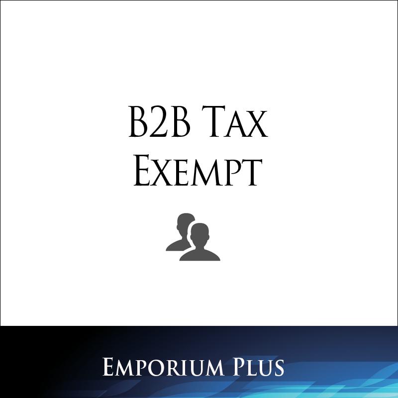 Miva App Store: B2B Tax Exempt