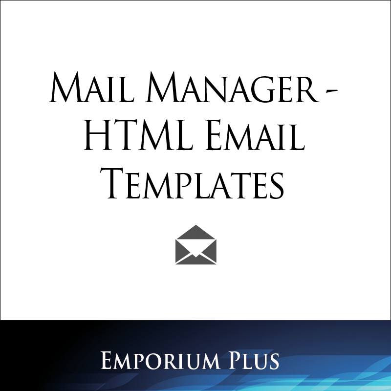 Miva App Store: Mail Manager - HTML Email Templates