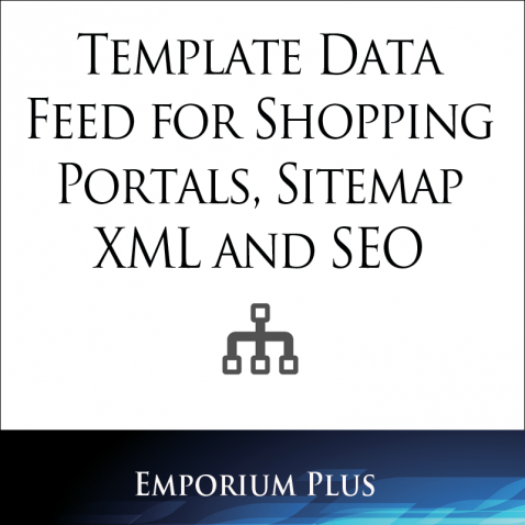 miva app store template data feed for shopping portals sitemap xml